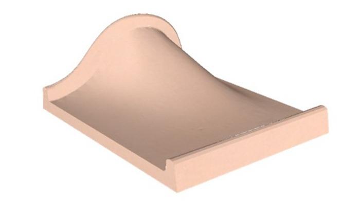 Minigolf---Elément-de-piste-vague