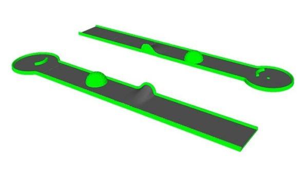 Minigolf-blacklight-piste-13