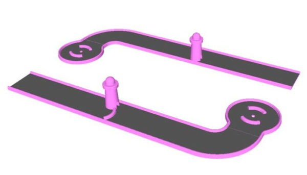 Minigolf-blacklight-piste-9
