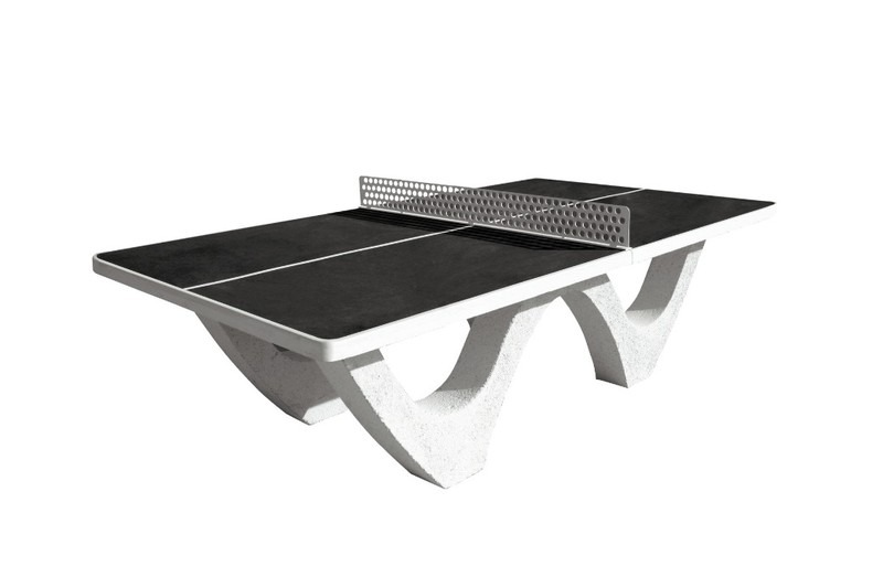 Table ping pong noir