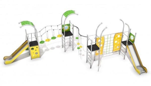 Structure multi jeux Domo-4-1|Structure mulit jeux Domo 4-1