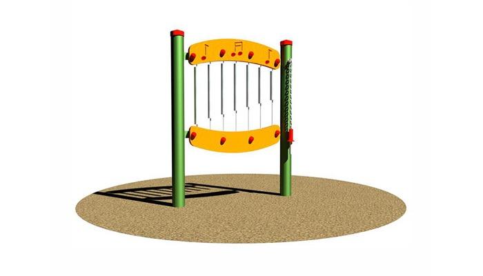 Plein air - Sensoriel Xylophone