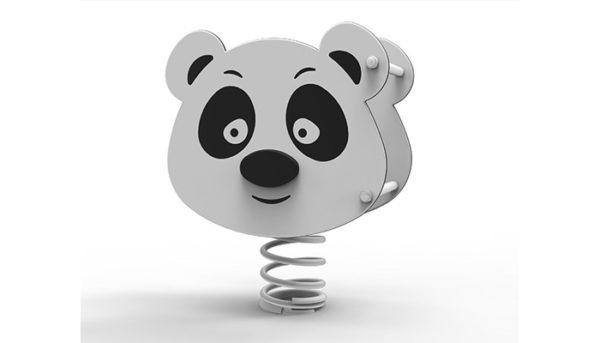 Panda Panda sur ressort