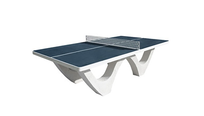 Table ping pong bleu