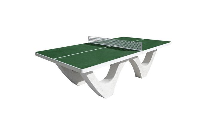 Table ping pong verte