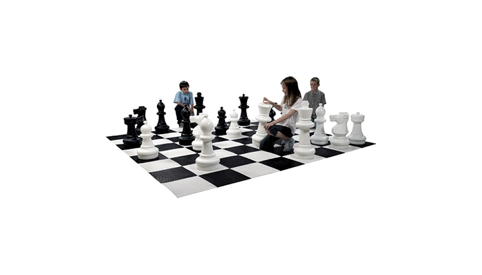ENSEMBLE DE PIECES D'ECHECS EN PVC - 32 PIECES
